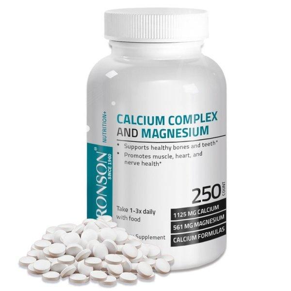 Калций+Магнезии тб.х100 таблетки